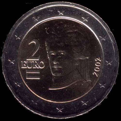 2 euro Áustria