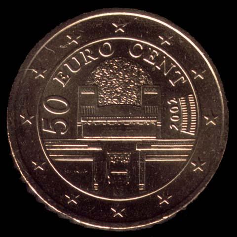 50 cêntimos euro Áustria