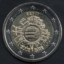 pièces de monnaie en euro de l'Estonie 2012