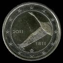 pièce de 2 euro commémorative de la Finlande 2011