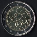 pièce de 2 euro commémorative de la Finlande 2013