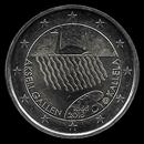 pièce de 2 euro commémorative de la Finlande 2015