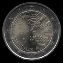 2 euro commémorative Finlande 2015