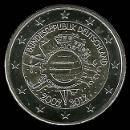 pièces de monnaie en euro de l'Allemagne 2012