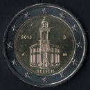 2 euro Alemania 2015
