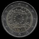 pièce de 2 euro commémorative de l'Irlande 2015