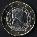 1 euro Letonia