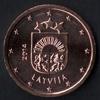 2 centimes euro Lettonie