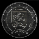 2 euro comemorativo Letónia 2017