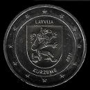 2 euro conmemorativos Letonia 2017