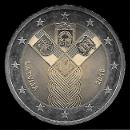 2 euro conmemorativos Letonia 2018