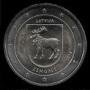 2 euro commémoratives de Lettonie 2018