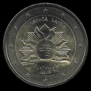 2 euro conmemorativos Letonia 2019