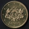 50 centimes euro Lettonie