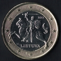 Pièces en euro de la Lituanie
