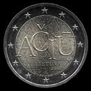 2 euro comemorativo Lituânia 2015