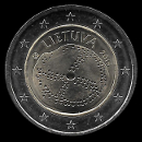 2 euro comemorativo Lituânia 2016