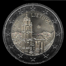 2 euro comemorativo Lituânia 2017