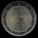 2 euro comemorativo Lituânia 2019