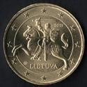 50 cêntimos euro Lituânia