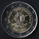 2 euro Commemorativi Malta 2014