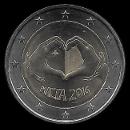 2 euro commémorative Malte 2016