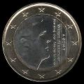 pièce 1 euro des Pays-Bas