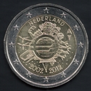 2 Euro Commemorativi dell'Olanda 2012