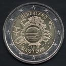 2 euro Países Baixos 2012