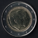 2 Euro Commemorativi dell'Olanda 2014