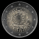 2 Euro Commemorativi dell'Olanda 2015