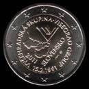 2 euro Eslov�quia commemorativi 2011