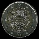 2 euro Eslov�quia commemorativi 2012