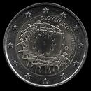 2 euro Eslov�quia 2015