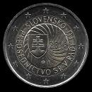 2 euro conmemorativos Eslovaquia 2016