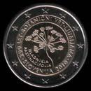 pièces de monnaie en euro de la Slovénie 2010