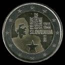 pièces de monnaie en euro de la Slovénie 2011