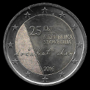 pièces de monnaie en euro de la Slovénie 2016