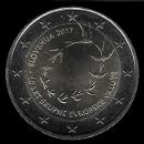 pièces de monnaie en euro de la Slovénie 2017