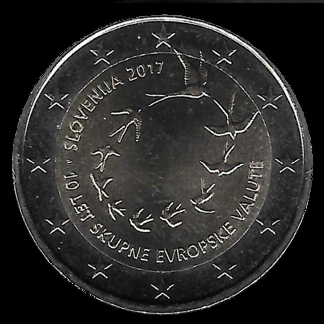6c1bc79486 ... 2 euro Slovenia 2017