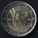 Italian commemorative 2 euros 2014