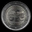 2 euros commémorative Italie 2016