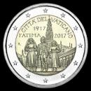 pièces de monnaie en euro du Vatican 2017